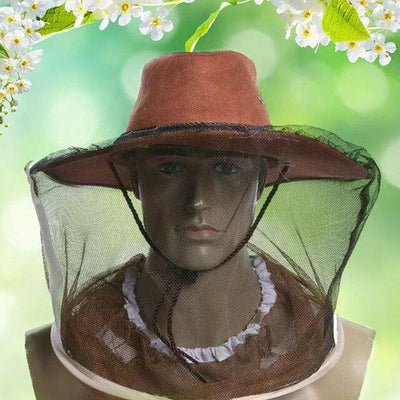 Premium Western Style Protective Net Hat