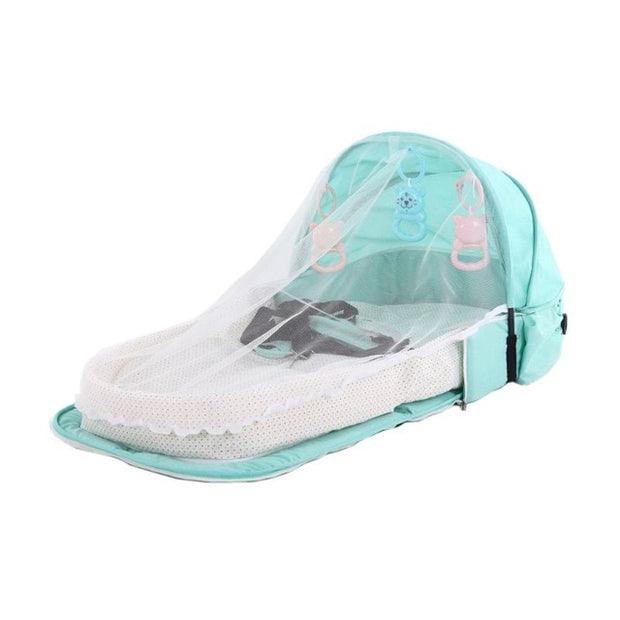 Baby Bed Travel Sun Protection Mosquito Net Foldable Infant Sleeping Basket