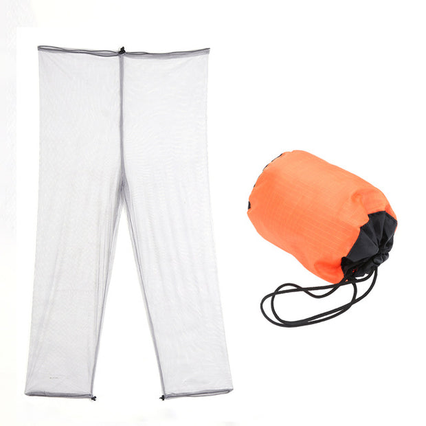 Anti Bug Mosquito Net Pants Summer Bug Protection Mesh Pants for Outdoor Fishing Hiking Camping Wild Anti Insect Bites Clothing 3.34