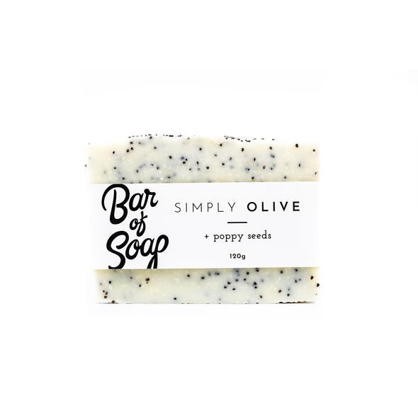 Simply Olive + Poppy Seed Soap