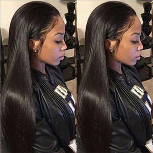 Gorgeous Black Straight Long Wig