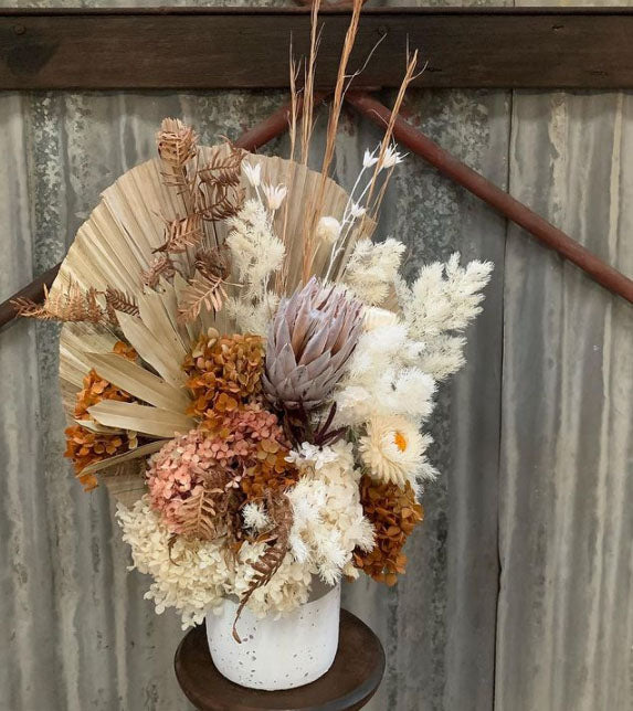 Mother's Day // Dried Flower Arrangement