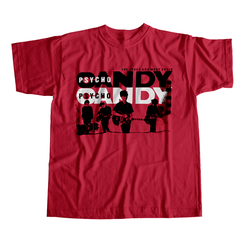 Psychocandy Tour Tee (Red)