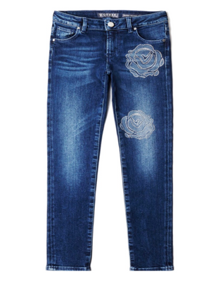Jeans com Strass Guess Kids
