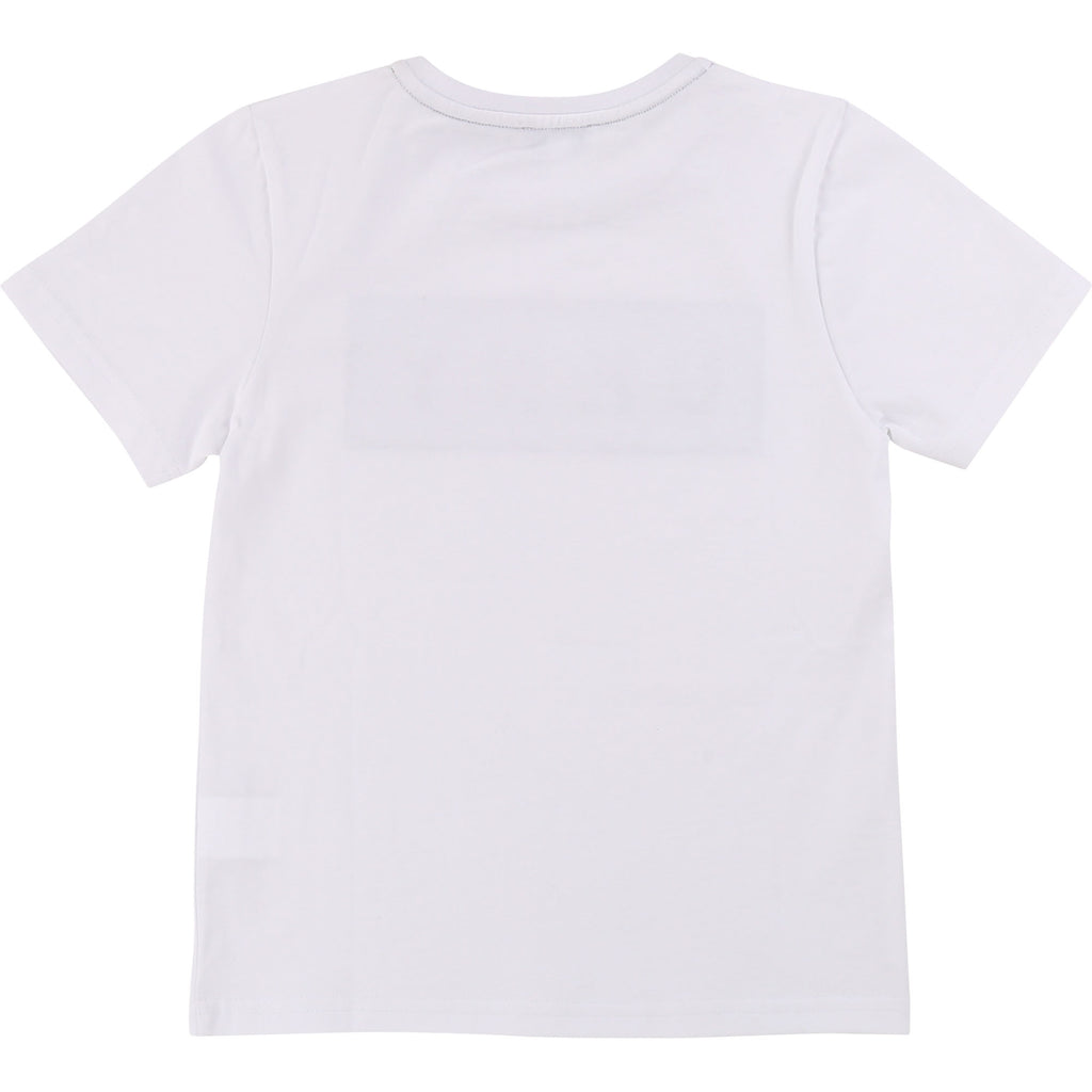 White Short Sleeve T-shirt - MamaSmile