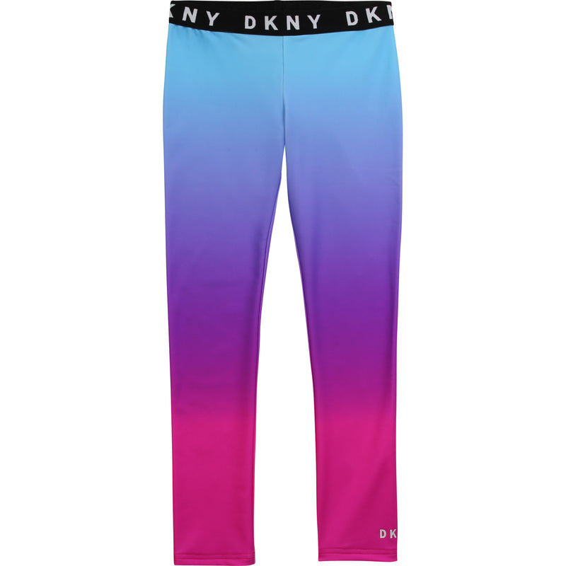 DKNY Blue & Pink Sports Legging - MamaSmile