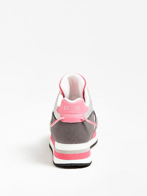Lily Pink Plataform Trainers - MamaSmile