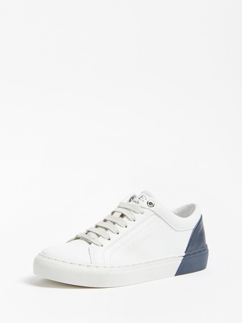 Luiss Sneaker White & Blue - MamaSmile