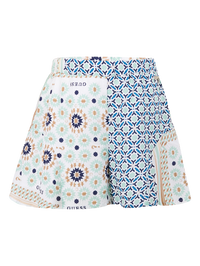 Tile Patterned Short - MamaSmile