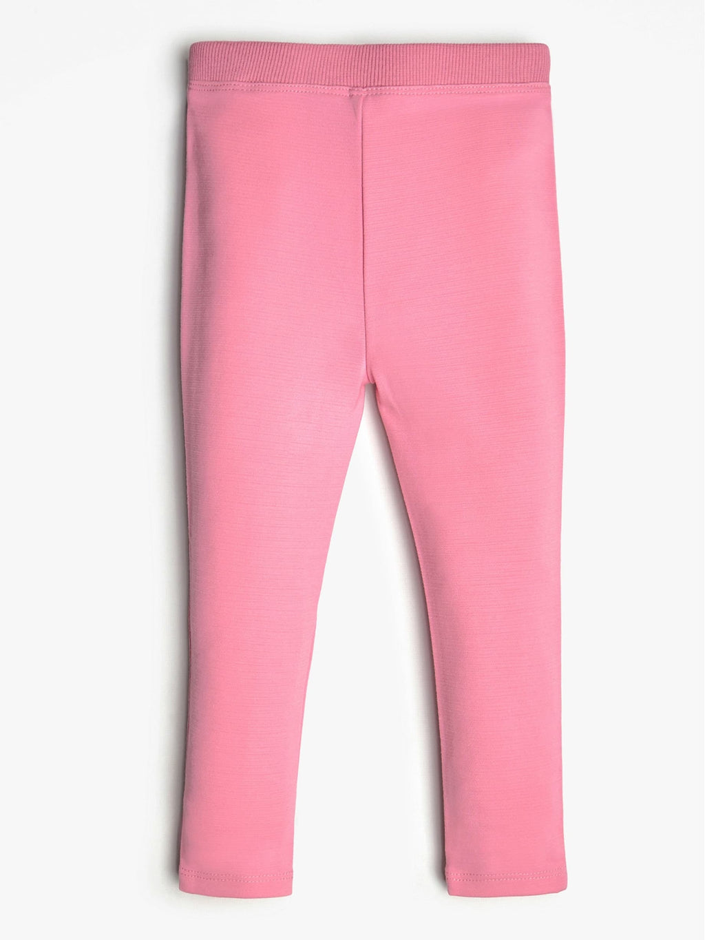 Pink Legging With Logo - MamaSmile