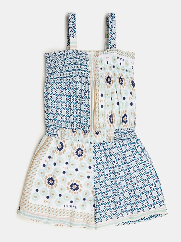 Tile Patterned Jumpsuit - MamaSmile