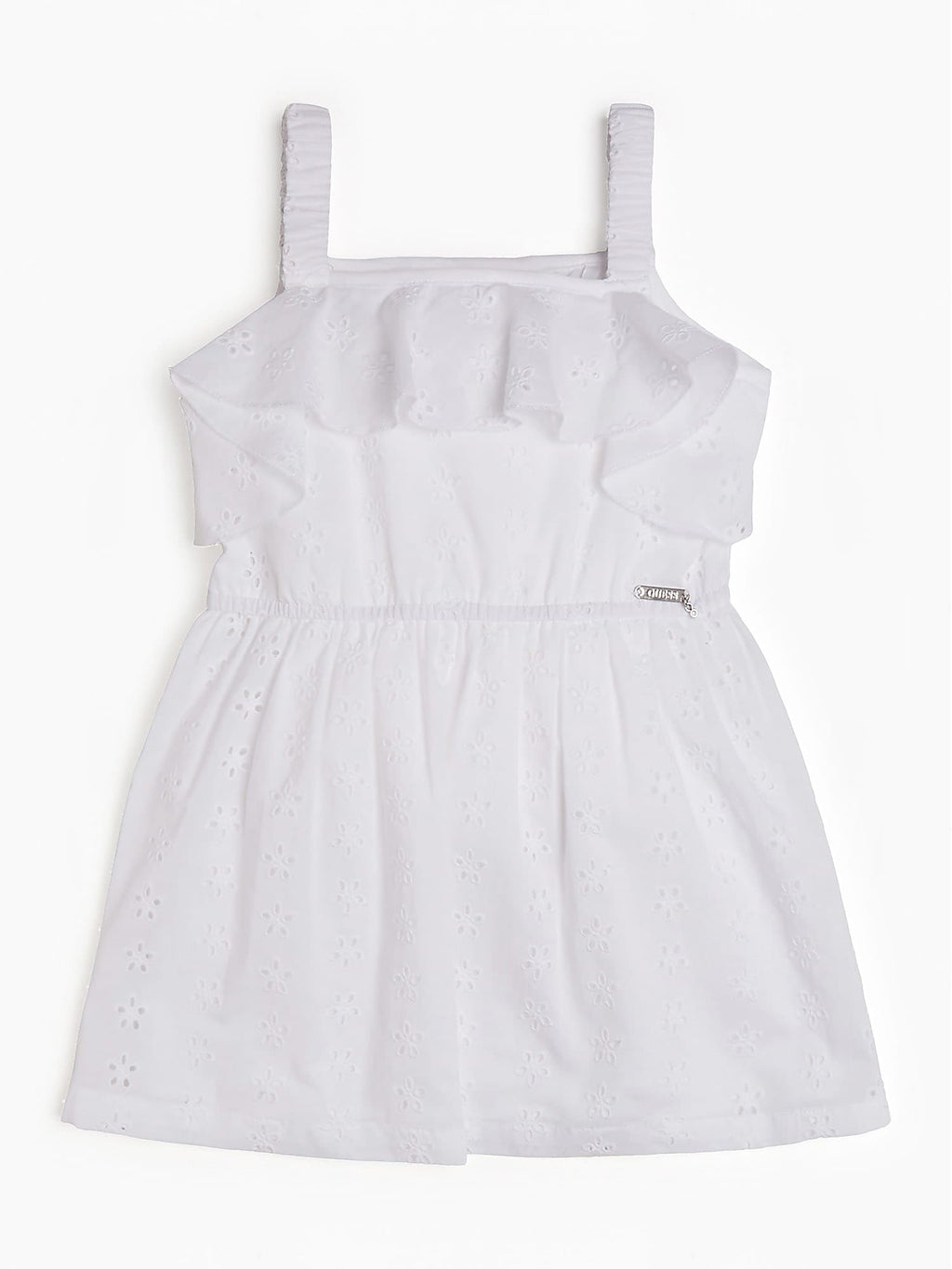 White Cotton Dress - MamaSmile