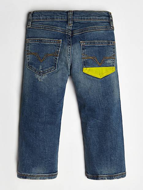 Baby Boy Denim Pants - MamaSmile