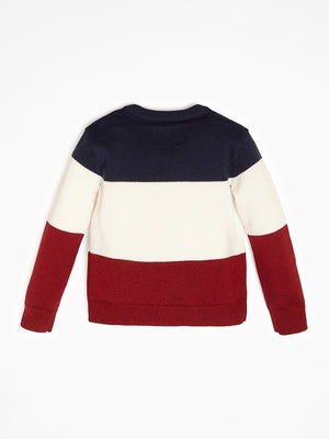 Color Block Sweater - MamaSmile
