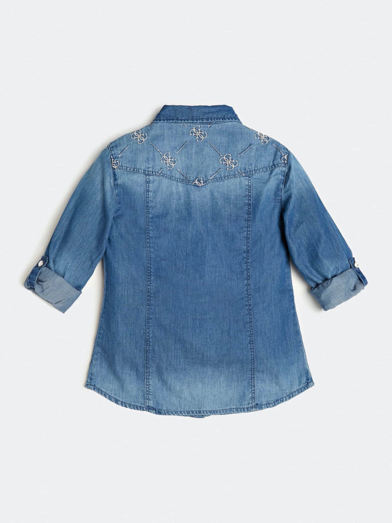Denim Shirt - MamaSmile