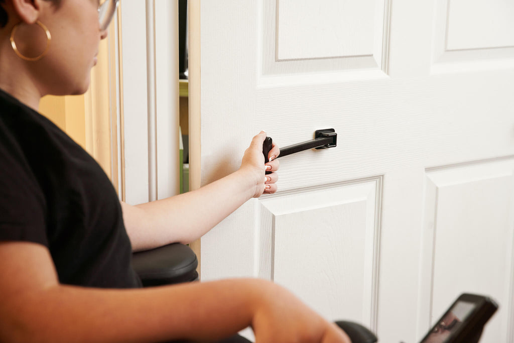 T-Pull Door Closer, Accessible Door Handle, Interior or Exterior, Durable, Swivels