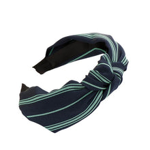 Load image into Gallery viewer, Fall Striped Headband
