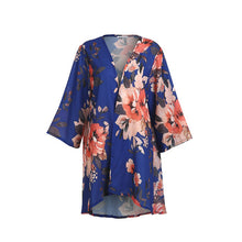 Load image into Gallery viewer, Boho Short Floral Kimono
