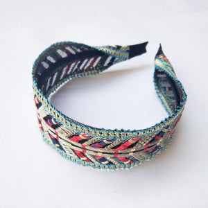 Follow Your Arrow Embroidered Headband