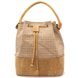 SALE: Bucket bag - kurkleer - Indiana