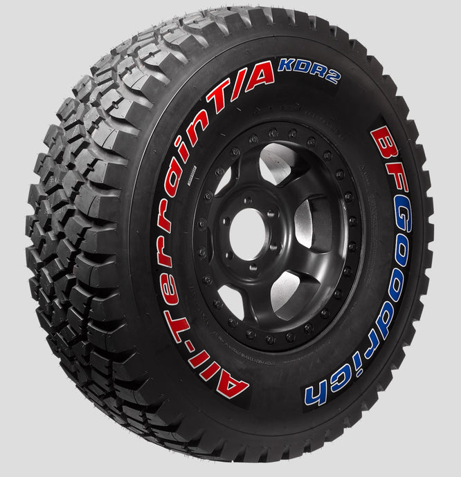 BFGoodrich All-Terrain KDR2+ Dakar Race Tires