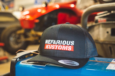 Nefarious Kustoms Snapback Hat