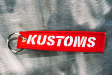 Load image into Gallery viewer, Nefarious Kustoms Flight Tag Keychain