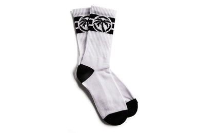 Heat Wave 4 Speed Socks- White