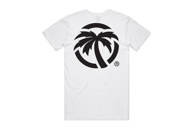 Heat Wave Icon Tee- White
