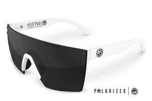 LAZER FACE: White Frame Black
