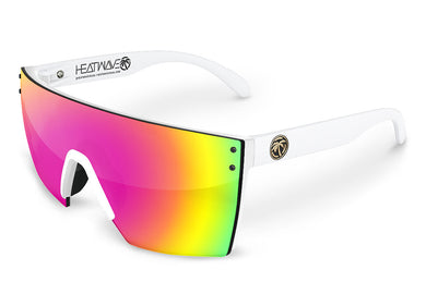 LAZER FACE: White Frame Savage Spectrum