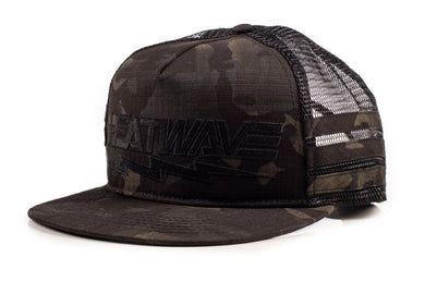 HWV Multi-Cam Bolt Trucker Cap