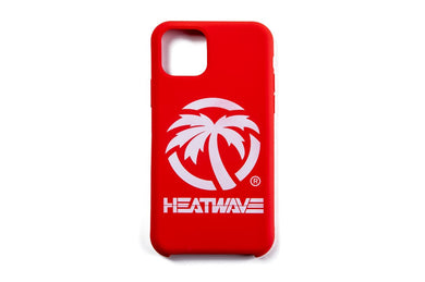 Heat Wave Visual iPhone 11 Series Case_ Billboard Red