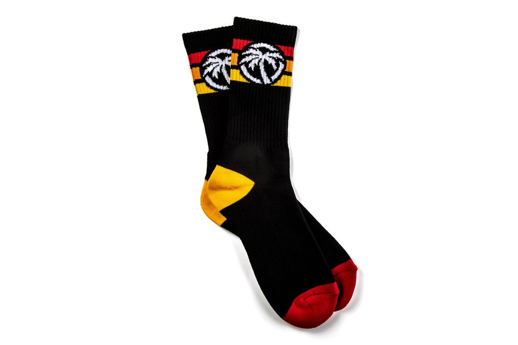 Heat Wave 4 Speed Socks Red Orange Yellow