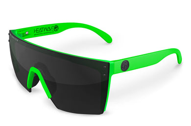 LAZER FACE: Neon Green Frame x Black