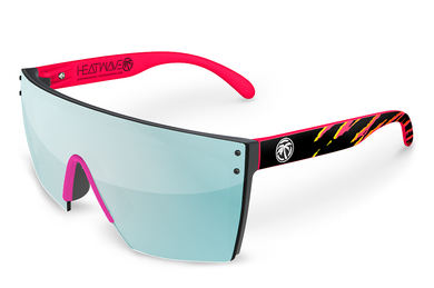 LAZER FACE: Pink Waverunner x Arctic Chrome