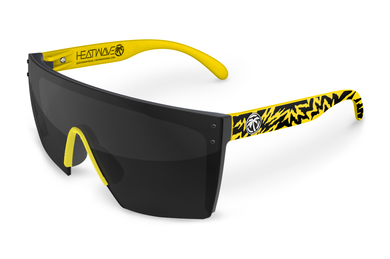 LAZER FACE: Yellow Hydro Shock Black