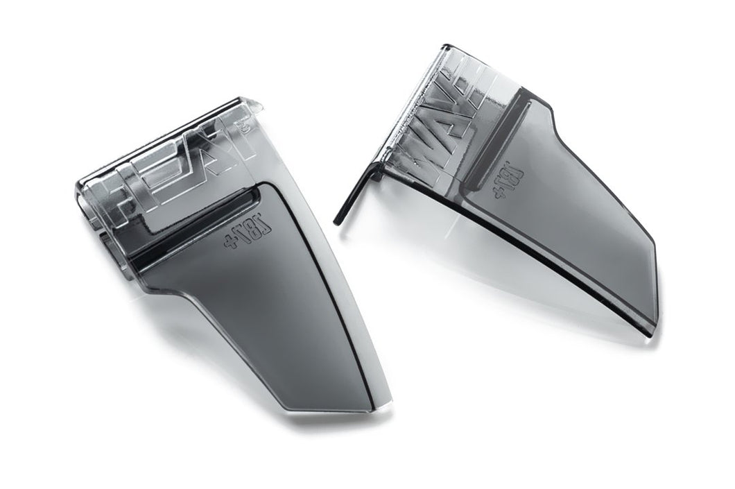 Lazer Face Side Shields - Smoked Grey (Lazer Face Protective Only)