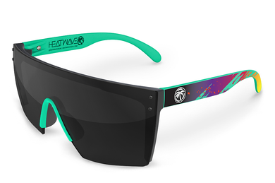 LAZER FACE: Aqua Splash x Black