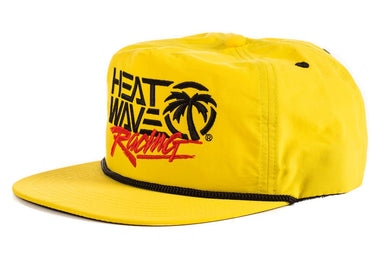 HWV Race Hauler Cap- Yellow