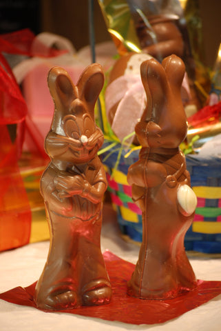 "Solid Chocolate ""Thumper"" Rabbit"