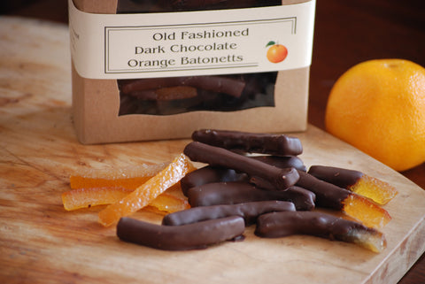 Old Fashioned Dark Chocolate Orange Batonettes
