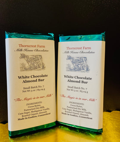White Chocolate Almond Bar
