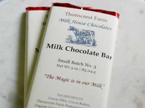 Pure Milk Chocolate Bar