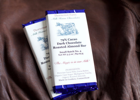 Dark Chocolate Roasted Almond Bar