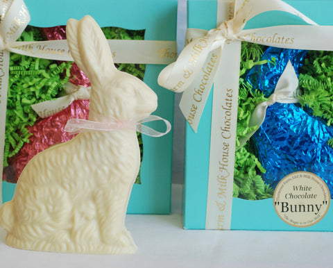 Ultimate White Chocolate Easter Bunny