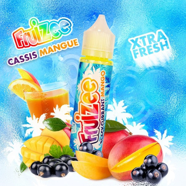 CASSIS MANGUE MIX & VAPE 50ML - FRUIZEE