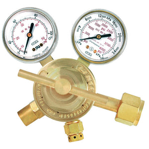 "GENTEC 152CD-100 Medium Duty ""MIG METER"" Flow Gauge Regulator"