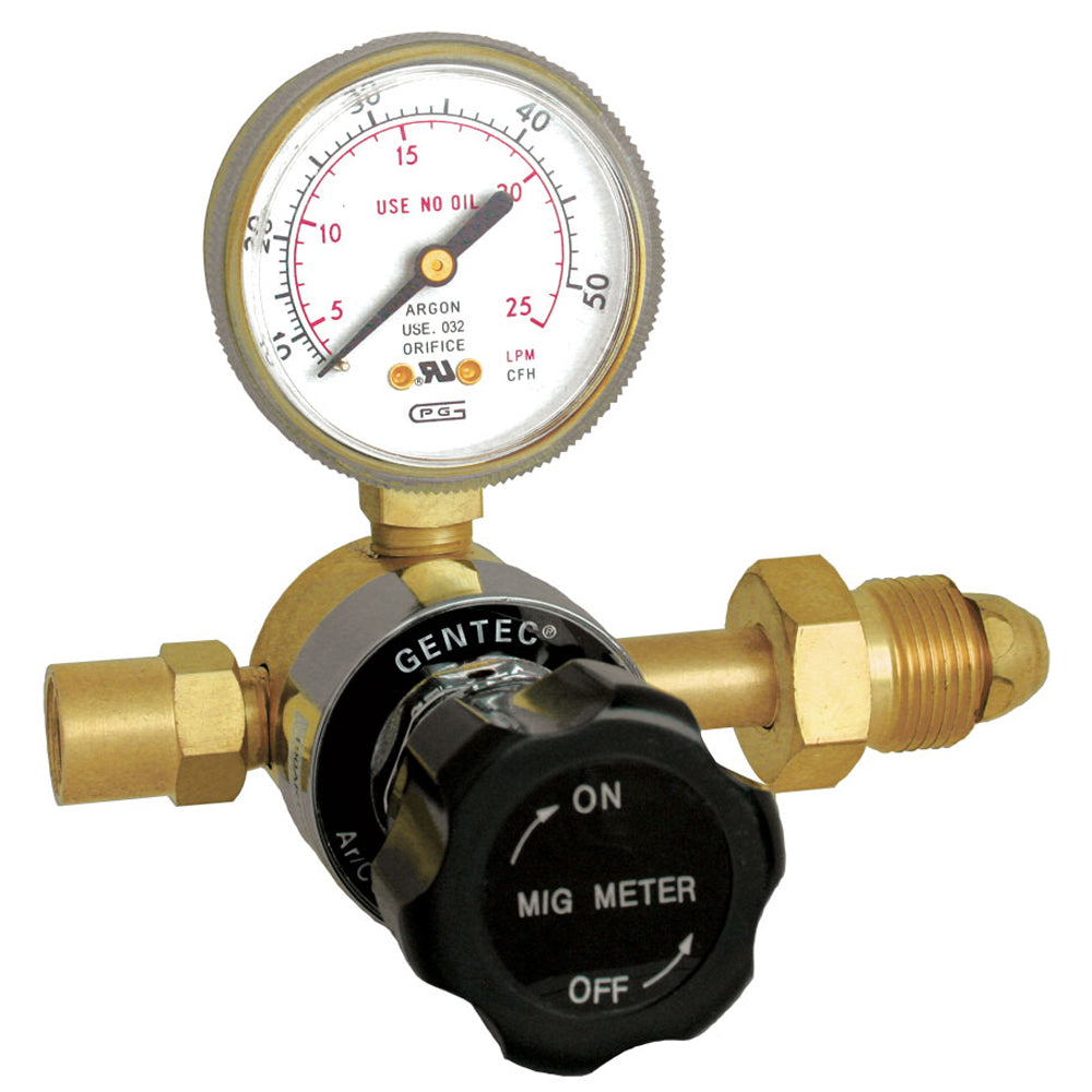 GENTEC 190AR1-50 Light Duty Flow Gauge Regulator