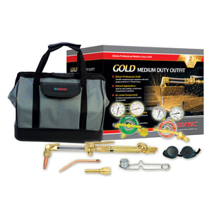 "GENTEC Gold Series 4121 ""Excalibur"" Medium Duty Outfits in Deluxe Tool Box for All Trades"